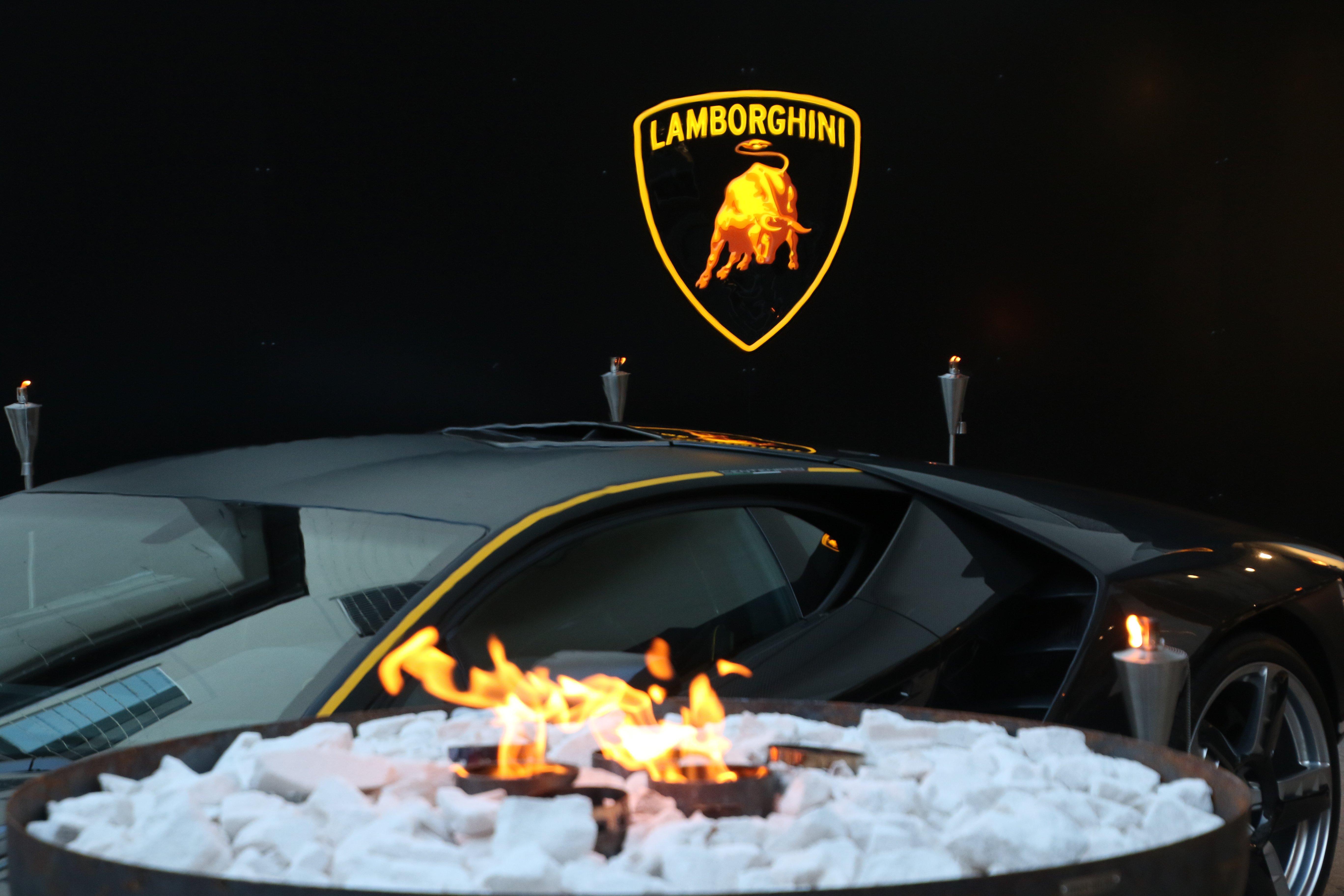 Lamborghini Lounge St. Moritz 2017