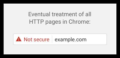 Chrome SSL Alert