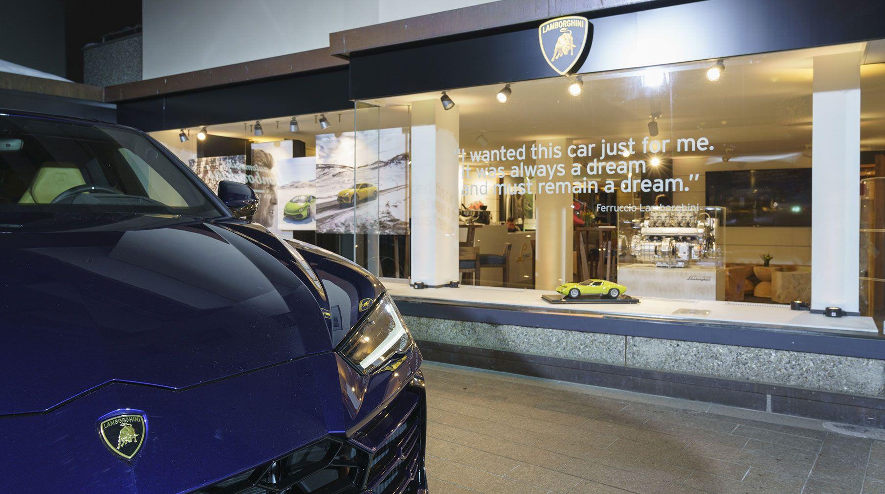 Virtuell durch die Lamborghini Lounge