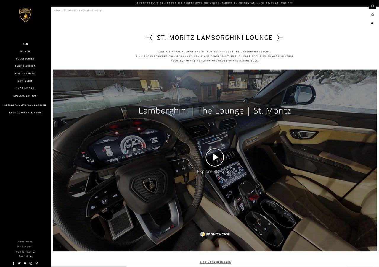 Lamborghini Lounge St. Moritz