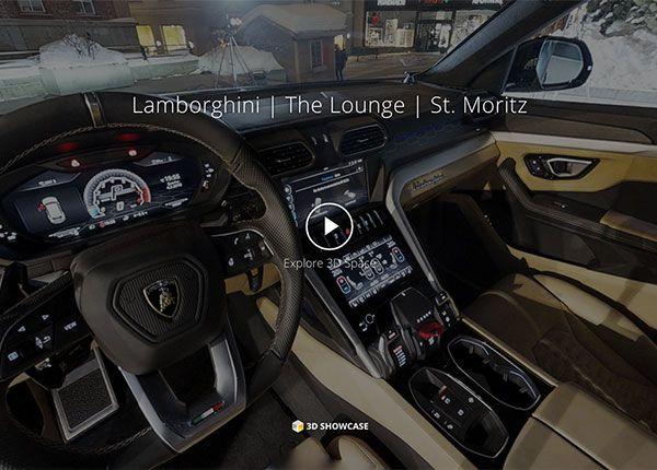Lamborghini Virtual Tour